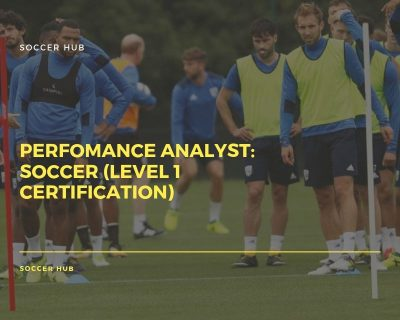 Perfomance Analyst: Soccer (Level 1 certification)