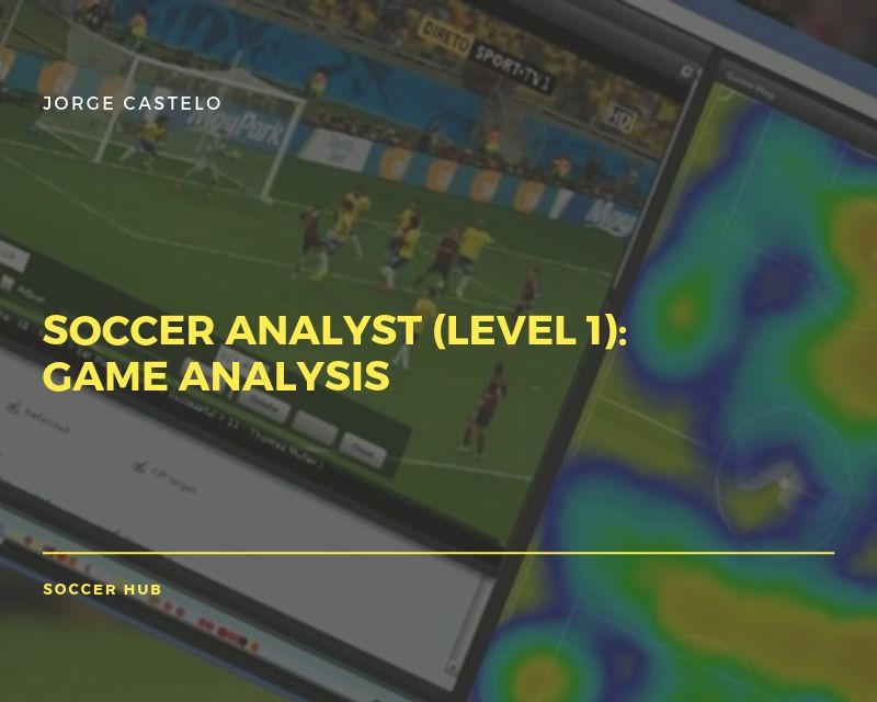 Soccer Analyst Certification online course (Game Analysis)